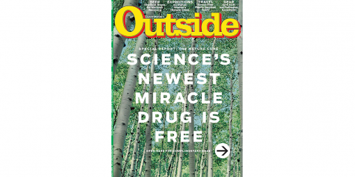 Outside Magazine May Cover