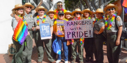 Rangers at Pride