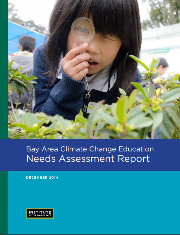 Climate Change Needs Assessment cover image